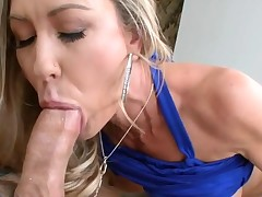 Enchanting darling pounds her twat with hard sex toy